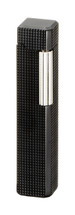 Sarome PSD36 Pipe Lighter - Matte Black Latice Diamond Cut