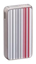 Sarome SK161 Silver & Red Stripe