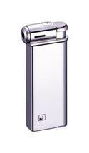 Sarome PSP Piezo Electronic Pipe Lighter - Silver Satin