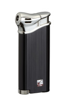 Sarome PSP3 Piezo Electronic Pipe Lighter - Black Hairline