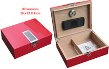 Small Desktop Humidor - Ferrari Design