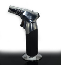 Heavy Duty Table Top Torch - Silver