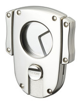 Sarome EXCT2 Butterfly Cigar Cutter -Silver