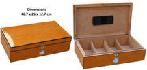 High Gloss Desktop Cigar Humidor