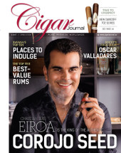 Cigar Journal Magazine - 1st Edition 2017