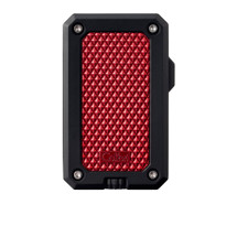 Colibri Rally Single Jet Lighter - Red