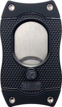 Colibri cigar cutter with serrated blades - Black