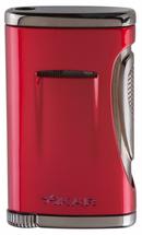 Xidris Single Jet Lighter - Daytona Red