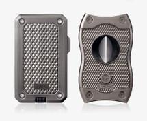 Colibri Rally + SV-Cut Gift Set - Gunmetal