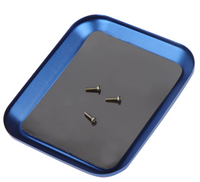 Magnetic Aluminum Screw Tray