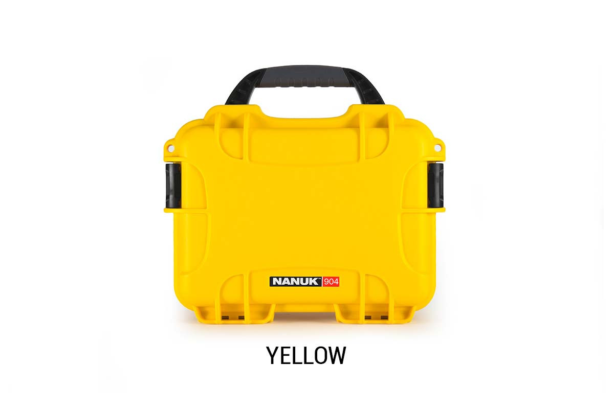 Nanuk 904 Case w/foam Yellow