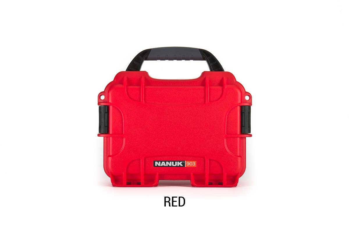 Nanuk 904 Case w/foam Red