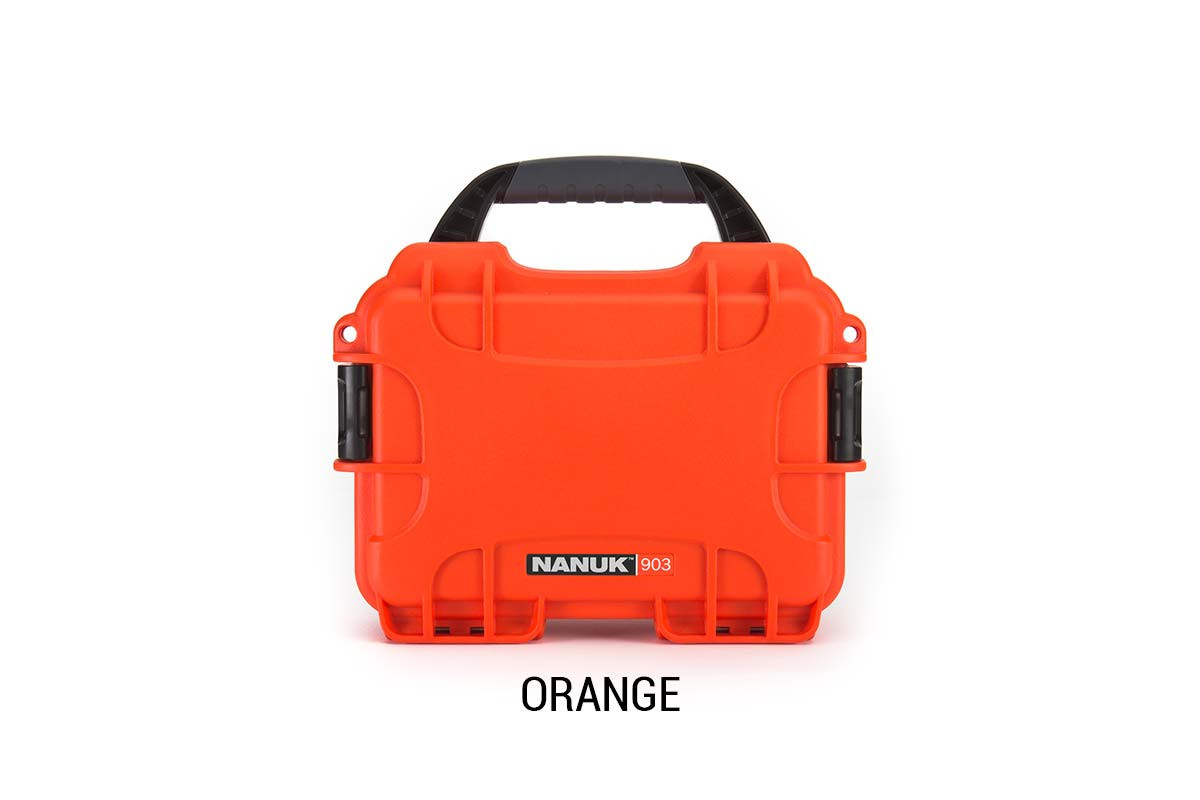 Nanuk 904 Case w/foam Orange