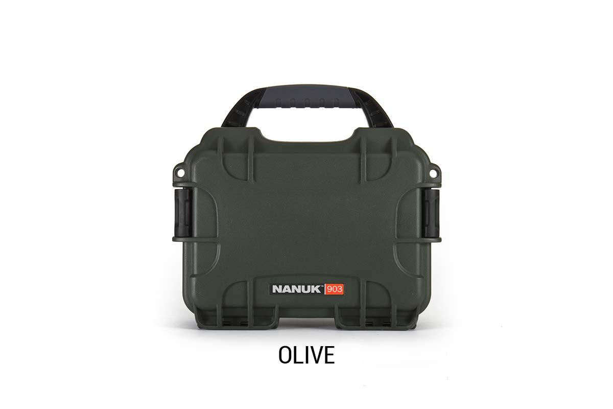 Nanuk 904 Case w/foam Olive