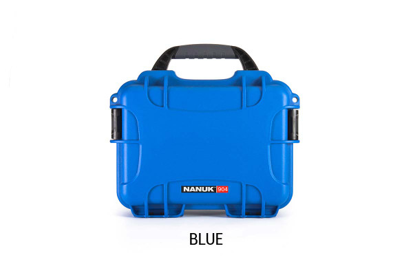 Nanuk 904 Case w/foam Blue