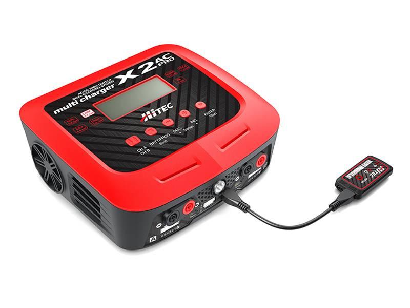 Hitec X2 AC Pro 2 Port AC/DC Multi-Charger