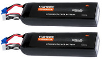 Yuneec Tornado H920 Lipo Battery (2 pcs) 4000mAh 6-Cell / 6S 22.2V