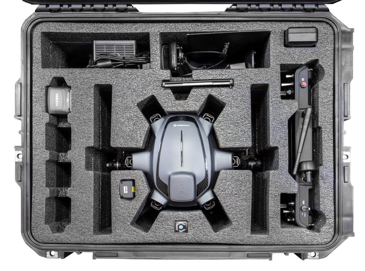 Case Pro Yuneec Typhoon H Drone Hard Case w/ wheels