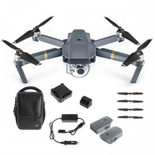 DJI Mavic Pro Fly More Combo Aerial Drone