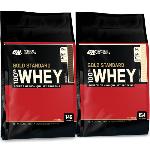 BUY 2 FOR £170 - Optimum Nutrition 100% Whey Gold Standard 4.54 KG (10 LB)