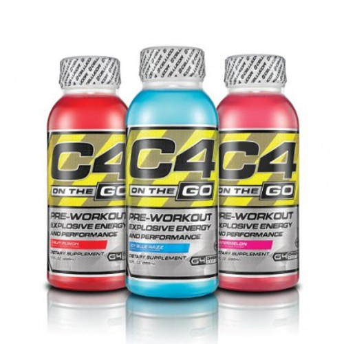 Cellucor C4 On The Go Ready To Drink X 12 Bottles Pack 295 ML (12 FL OZ)