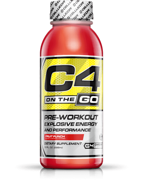 Cellucor C4 On The Go Ready To Drink Single Bottle 295 ML (12 FL OZ)