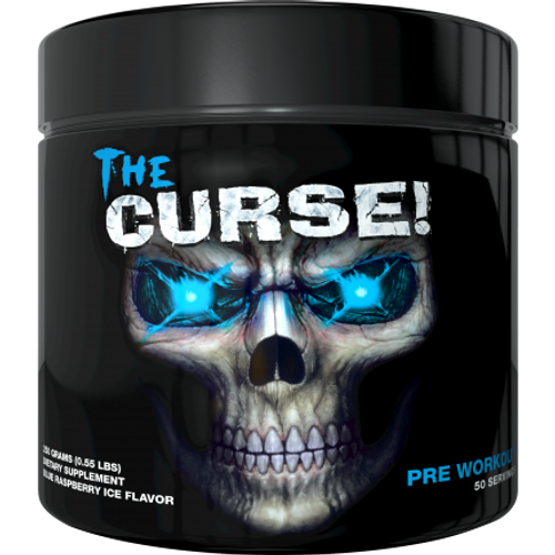 BUY 3 GET 1 FREE - Cobra Labs The Curse Pre Workout 250 G (0.55 LB)