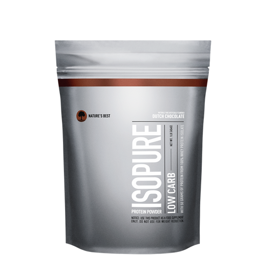 Isopure ZERO SUGAR/LOW CARB Protein Powder 500 G (1 LB)