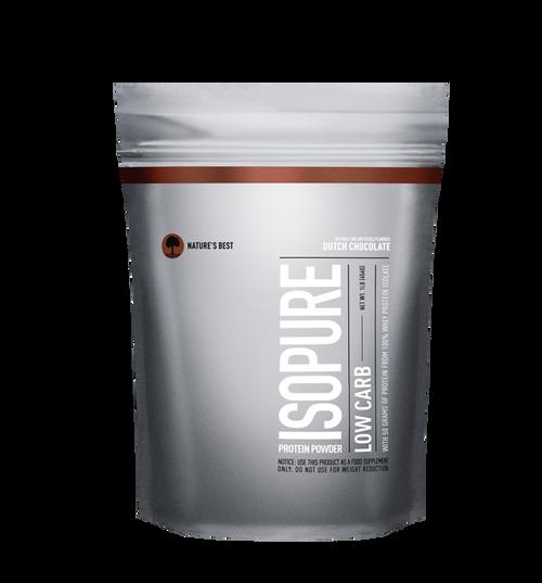 Isopure ZERO SUGAR/LOW CARB Protein Powder 500 G (1 LB)