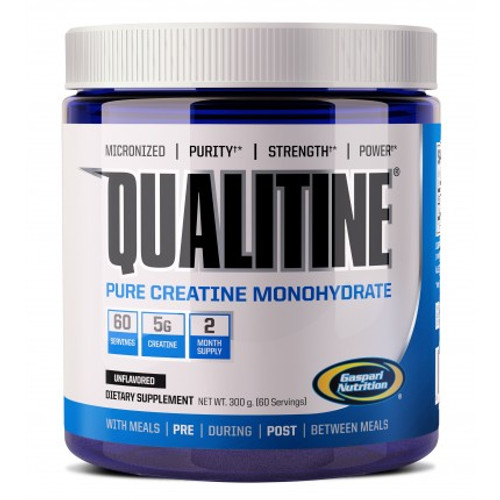 Gaspari Nutrition QUALITINE Creatine Monohydrate Unflavored 300 G