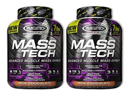 BUY 2 FOR £75 - Muscletech MASS TECH Performance Series 3.2 KG (7 LB)