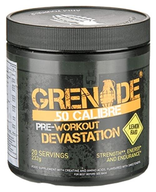 Grenade .50 CALIBRE Pre Workout 232 G (20 Servings)
