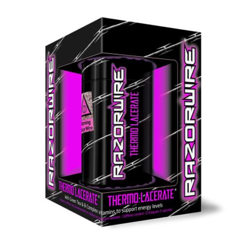 Razorwire THERMO LACERATE Purple 100 Capsules