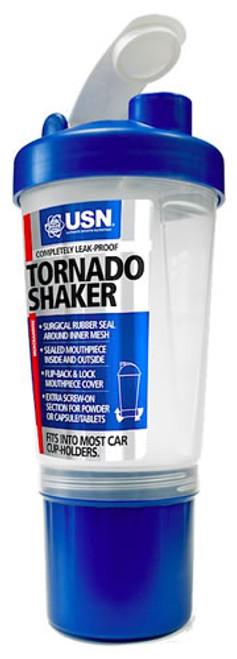 USN Tornado Shaker Bottle 700 ML (24 Fl OZ) Blue