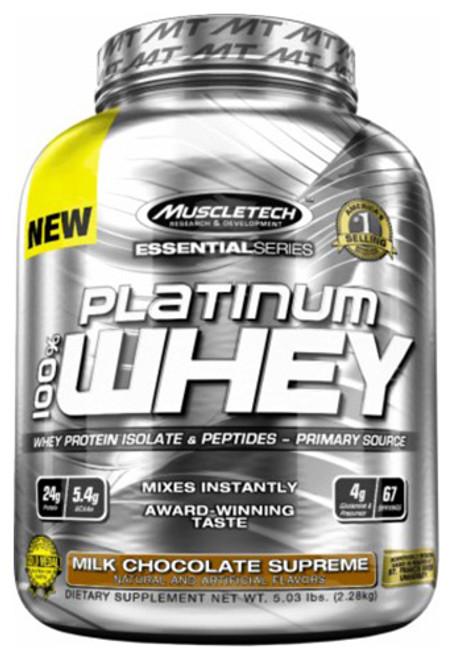 Muscletech Platinum 100% Whey 2.28 KG (5 LB)