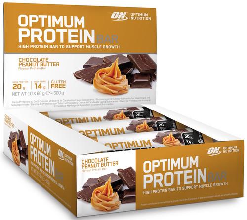 Optimum Nutrition Protein Bar 60 G X 10