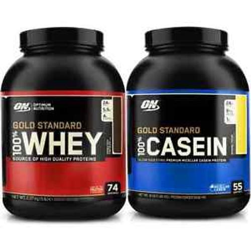 Bundle Offer - ON Whey 5 LB + Casein 4 LB
