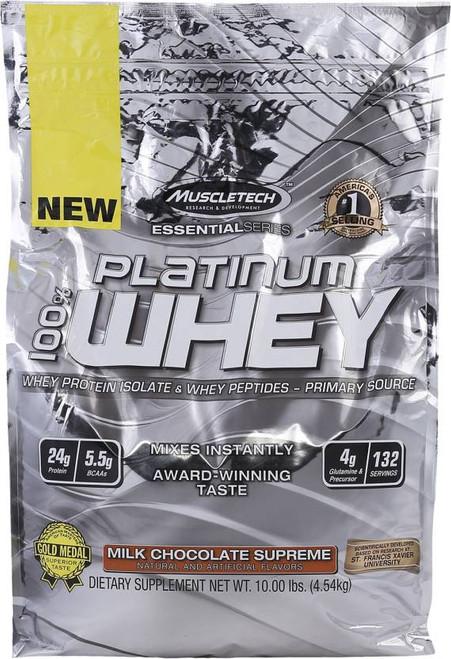 Muscletech Platinum 100% Whey 4.54 KG (10 LB)