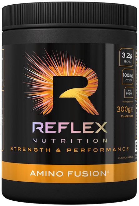 FREE GYM JUG - Reflex Nutrition AMINO FUSION 300 G (33 Servings)