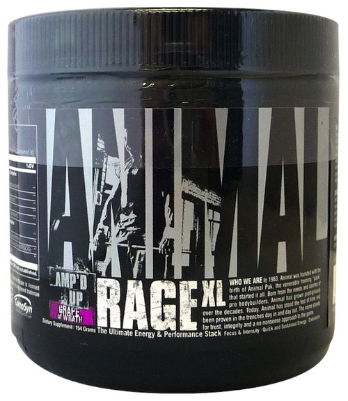 Animal RAGE XL 145 G (30 Servings)