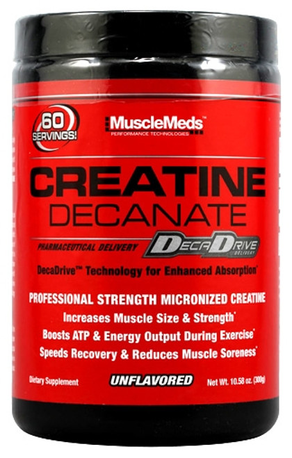 MuscleMeds Creatine Decanate 300 G Unflavored