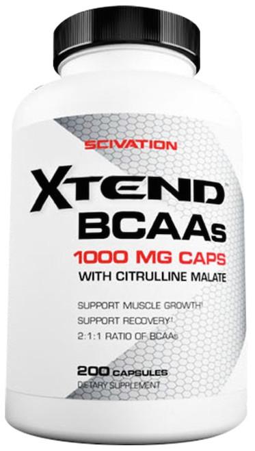 Scivation Xtend BCAAs 200 Capsules