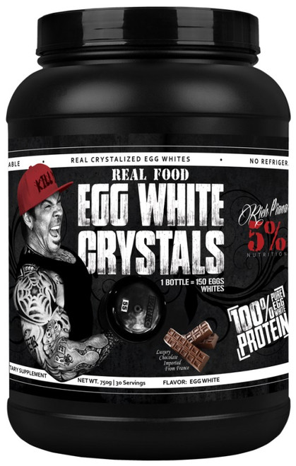 5% Nutrition Real Food Egg White Crystals 750 G (30 Servings)