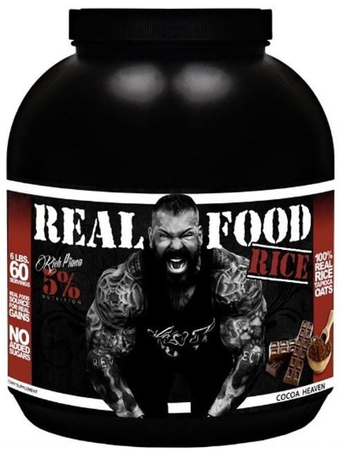 5% Nutrition Real Food Rice 2.2 KG (60 Servings)