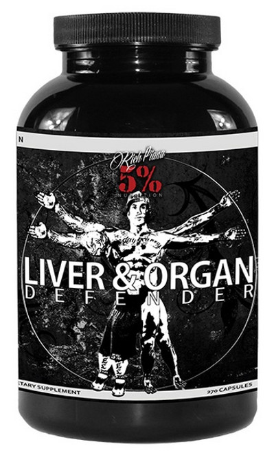 5% Nutrition Liver & Organ Defender 270 Capsules