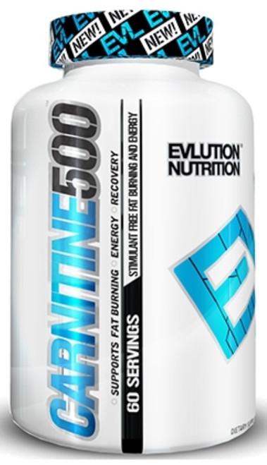 Evlution Nutrition Carnitine500 60 Capsules