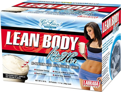 BUY 2 FOR £80 - Labrada Lean Body for Her x 20 Sachets Pack