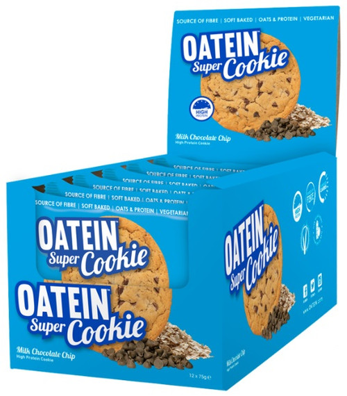 Oatein Super Cookie 75 G x 12 Cookies Pack
