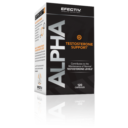 Efectiv Alpha Testosterone Support 120 Capsules