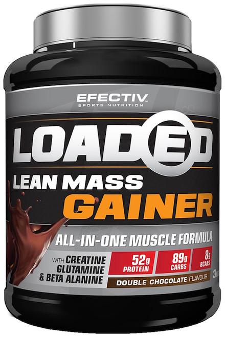 Efectiv Loaded Lean Mass Gainer 3 KG